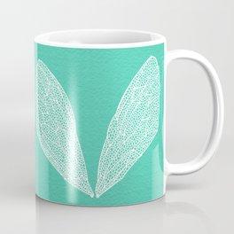 Cicada Wings – Turquoise Coffee Mug