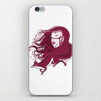 kitsune iPhone & iPod Skins featuring Kitsune by Stevyn Llewellyn