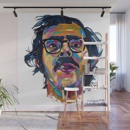 Chuck Close Wall Mural