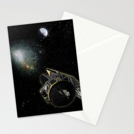 856. Depth Perception in Space Artist Concept Stationery Cards