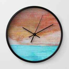 Sky is Crying Wall Clock