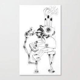 Aholic Canvas Print