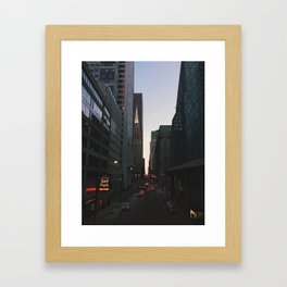 Chitecture Framed Art Print