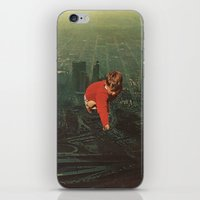 houston iPhone & iPod Skins featuring houston by Jesse Treece