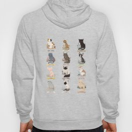 Cats Breed Hoody