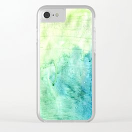 A color love story - part 1 Clear iPhone Case
