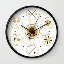 WORLDWIDE ASSOCIATION OF PHYSICAL EDUCATION Wall Clock