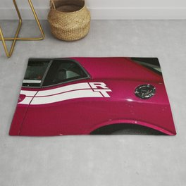 Fuchsia Panther Pink Challenger RT color photograph / photography / poster Rug