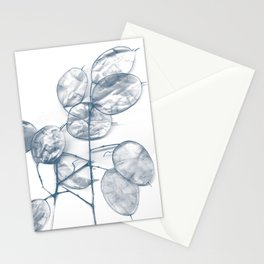 flower x-ray Stationery Cards
