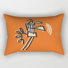 skip intro Rectangular Pillow