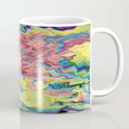 Lost in Thought; Fluid Abstract 56 Coffee Mug