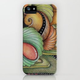 Just Peachy iPhone Case