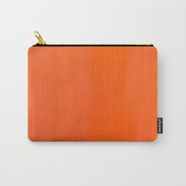 Orange/Coral Ombre Color #decor #society6 #buyart Carry-All Pouch