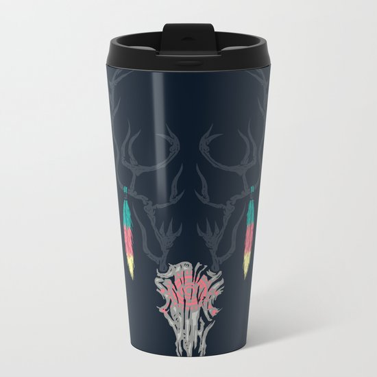 Darkness Within (Color Ver.) Metal Travel Mug