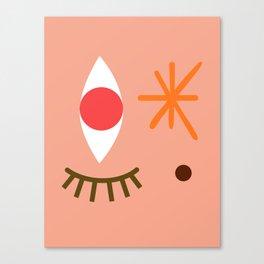 Bright Eyed & Bushy Tailed Canvas Print