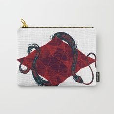 Scarlet Crystal Carry-All Pouch