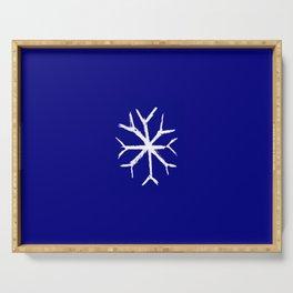 snowflake 4 Serving Tray