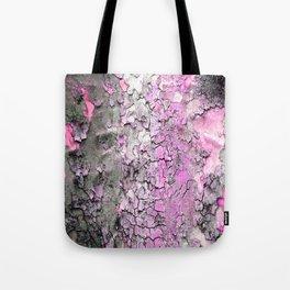 Pink Bark Tote Bag