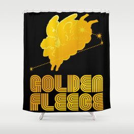 ARIES/GOLDEN FLEECE LOGO Shower Curtain