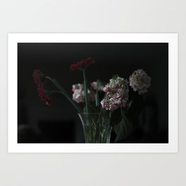 Wilted. Art Print