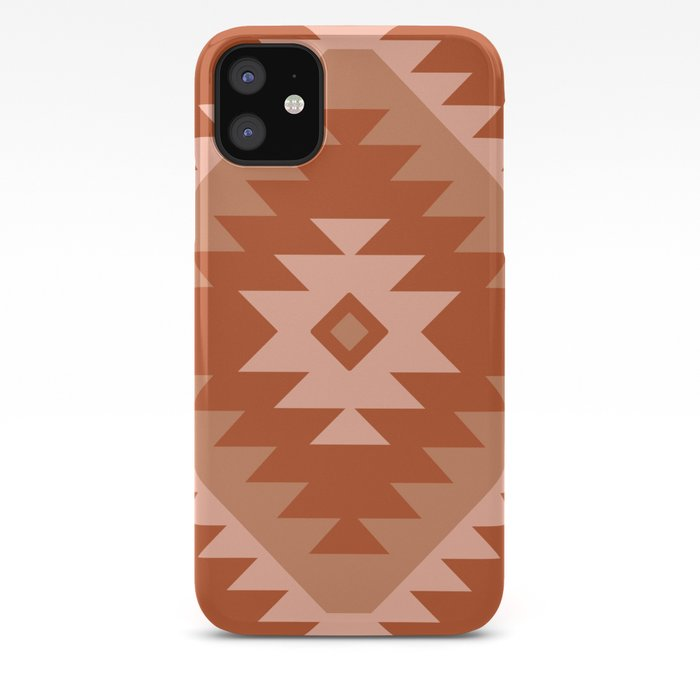 Tangiers Kilim in Rust iPhone Case