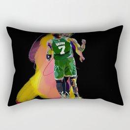 Tatum #0 Boston Basketball Player Poster Rectangular Pillow