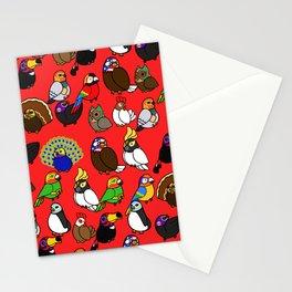 Lucha Birds Stationery Cards