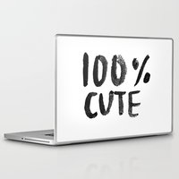 the 100 Laptop & iPad Skins featuring 100% Cute by Laurel Mae