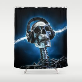 Soul music Shower Curtain