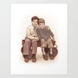 Stucky (Two Kids from Brooklyn) Art Print