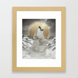 Turn Your Face To The Sun Framed Art Print
