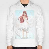 vocaloid Hoodies featuring Luka Mergurine by Rinneii