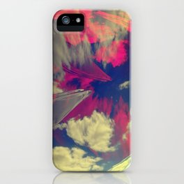 Signs in the Sky Collection - Visions iPhone Case