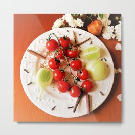 colorful meal Metal Print