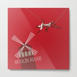 Moulin Metal Print