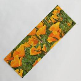 California Poppies Super Bloom Yoga Mat