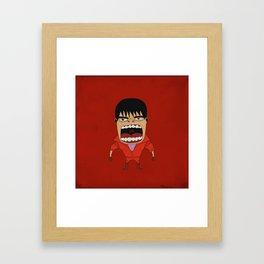 Screaming Kaneda Framed Art Print