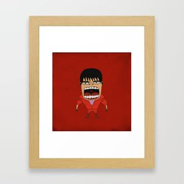 Screaming Kaneda Framed Art Print