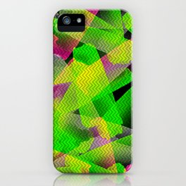 I Don't Do Normal - Abstract Print iPhone Case