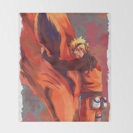 Naruto Throw Blanket