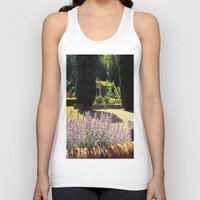 lavender Tank Tops featuring Lavender by Olivia Nicholls-Bates