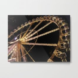 Attraction Distraction Metal Print