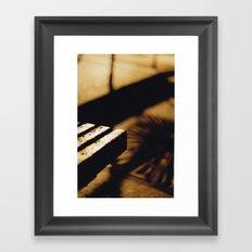 Lonely Night Framed Art Print