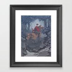 Riot Horse Framed Art Print