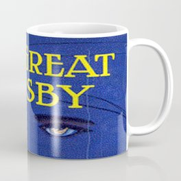 The Great Gatsby vintage book cover - Fitzgerald Coffee Mug