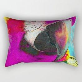parrot ara art #ara #parrot #animals Rectangular Pillow