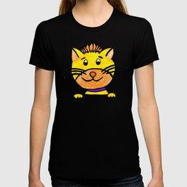 Well bellowed little lion gift funny cat T-shirt