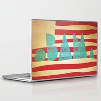 obama Laptop & iPad Skins featuring oBAMa by Josh Franke