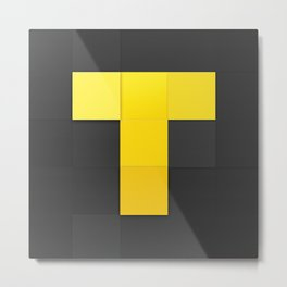 TV Time Logo Metal Print