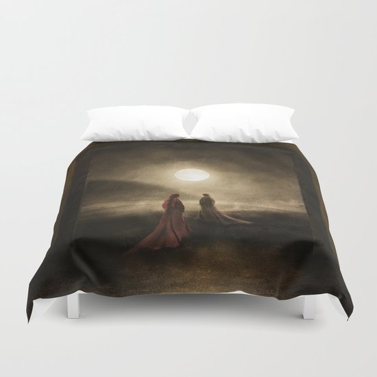 Escape to the Moon Duvet Cover